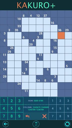 Kakuro Plus. Cross-Sums. For beginners to experts. 1.6.0 screenshots 3