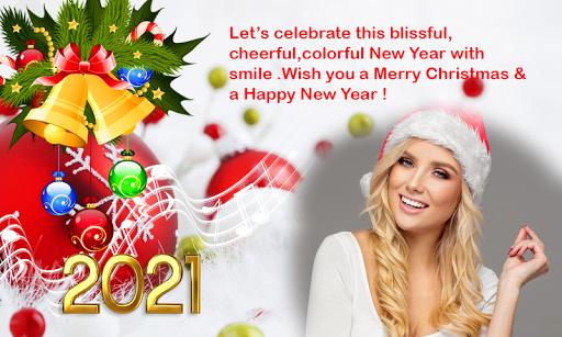 2021 Christmas Greetings Photo Frames 1.0.3 Screenshots 2