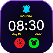 Smart Night Watch : Night clock Wallpapers HD