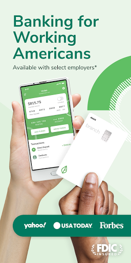Branch: Banking & Instant Pay  screenshots 1