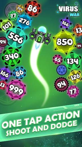Virus War - Space Shooting Game screenshots 4