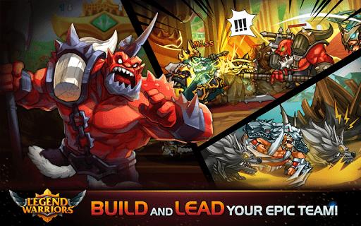legend heroes: epic battle - action rpg screenshot 1