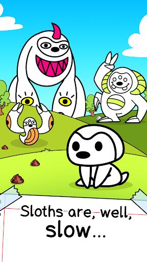 Sloth Evolution - Tap & Evolve Clicker Game apklade screenshots 1