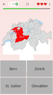 Swiss Cantons – Quiz about Switzerland's Geography 6