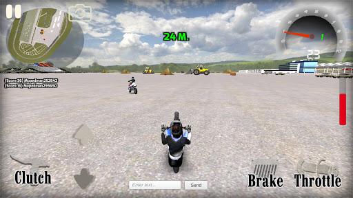 Wheelie King 4 - Online Getaway Wheelie bike 3D 1 screenshots 2