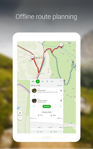 Mapy.cz - Cycling & Hiking offline maps 7.6.1 Screenshots 12