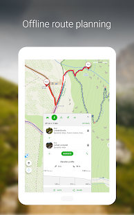 Mapy.cz - Cycling & Hiking offline maps Screenshot