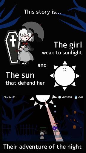 Girl x Sun - Terasene - Tower defence & Novel game  screenshots 2