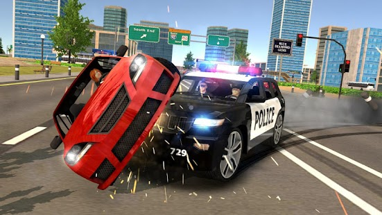 Police Car Chase - Cop Simulator Screenshot