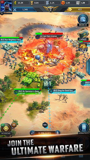 Instant War : Ultimate Warfare -  Fight & Conquer android2mod screenshots 4
