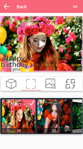 Photo video maker with music 49.0.1 Screenshots 3