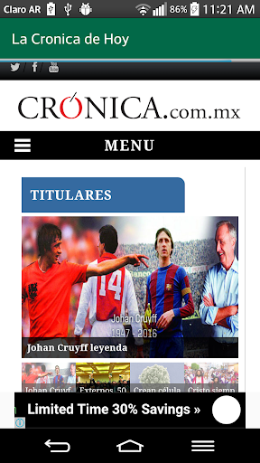Mexico Newspapers For PC Windows (7, 8, 10, 10X) & Mac Computer Image Number- 10