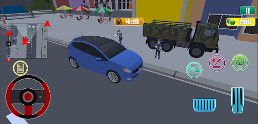 Grand City Theft War: Polygon Open World Crime apkpoly screenshots 6