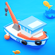 Fish idle: hooked boat & fishing games。 釣りゲーム無料