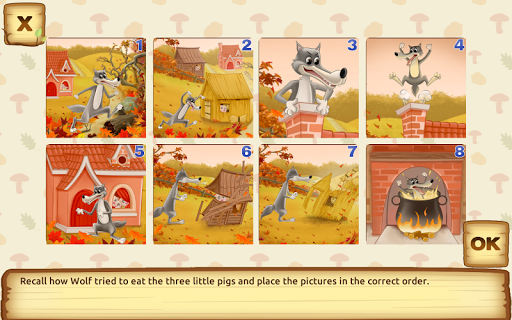Three Little Pigs - Fairy Tale with Games apkdebit screenshots 10