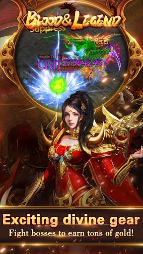 Blood & Legend:Dragon King hero mobile online game Apkfinish screenshots 1