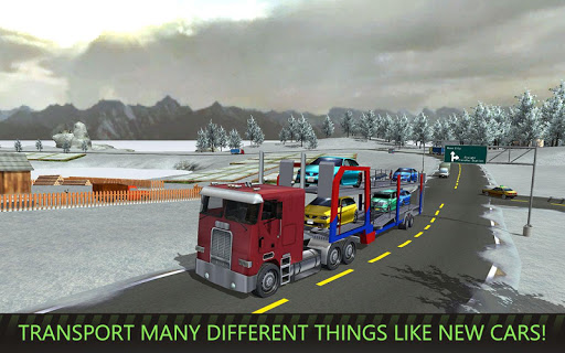 USA Truck Driver: 18 Wheeler  screenshots 1