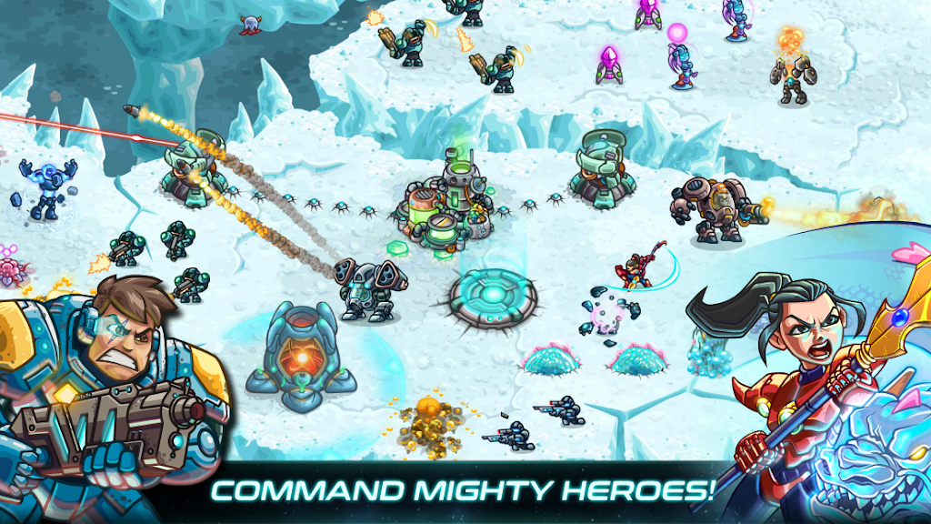 Iron Marines: RTS Offline Real Time Strategy Game  poster 2