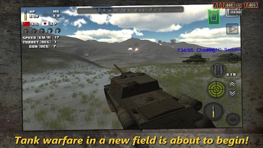 Attack on Tank : Rush – World War 2 Heroes Mod Apk 3.5.1 (Unlimited Money/Gold) 4