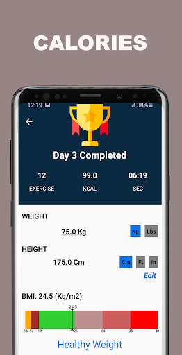 Kickboxing Fitness Trainer - Lose Weight At Home  Screenshots 10