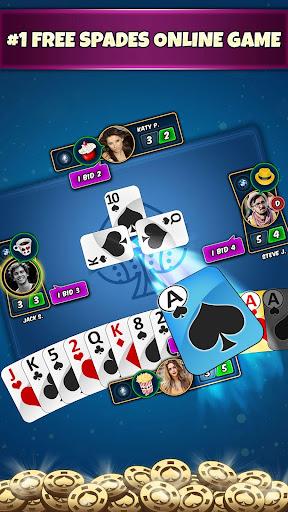 Spades Online - Ace Of Spade Cards Game 7.0 screenshots 1