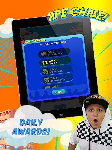 Screenshot 12 de FGTeeV Ape Chase! para android
