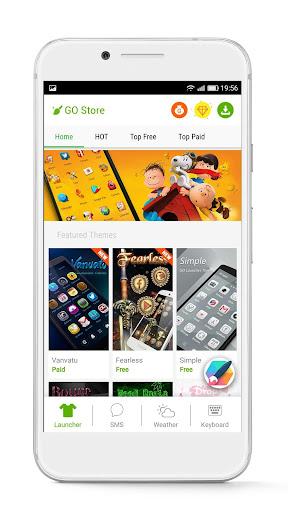 GO Launcher - 3D parallax Themes & HD Wallpapers 3.29 Screenshots 6