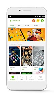 GO Launcher - 3D parallax Themes & HD Wallpapers Screenshot