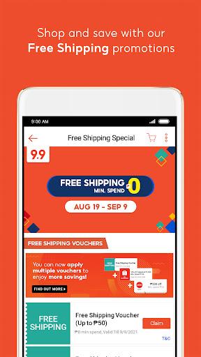 Shopee PH: 9.9 Shopping Day android2mod screenshots 3