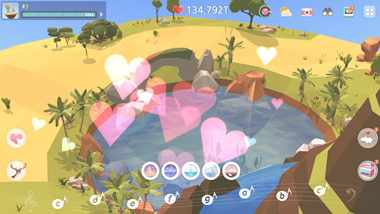 My Oasis : Calming and Relaxing Idle Game Screenshot