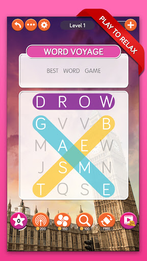 Code Triche Word Voyage: Word Search & Puzzle Game (Astuce) APK MOD screenshots 1