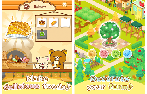Rilakkuma Farm 3.1.1 screenshots 2