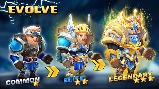 Tiny Gladiators 2: Heroes Duels - RPG Battle Arena apkdebit screenshots 5