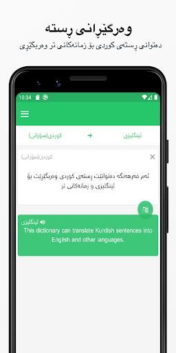 Rebin Dictionary Plus - Kurdish 4.1 Screenshots 3