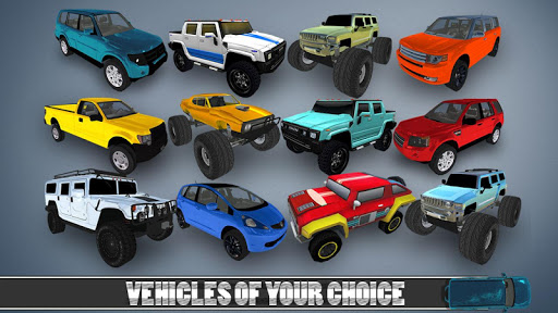 4X4 Jeep stunt drive 2019 : impossible game fun apklade screenshots 2