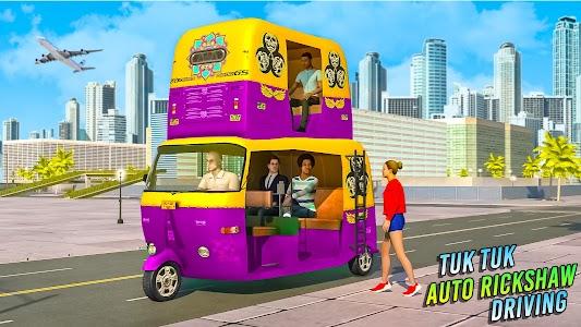 Tuk Tuk Auto Rickshaw Driving: Free Driving Games 1.11