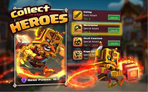 Dungeon Boss Heroes - Fantasy Strategy RPG  screenshots 2