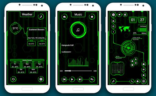 Visionary Launcher 2021 App lock, Hitech Wallpaper 27.0 Screenshots 15