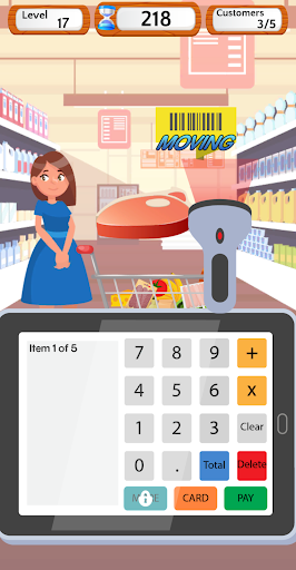 Supermarket Cashier Simulator - Money Math Game screenshots 3