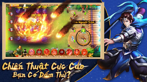 Tam Anh Thu1ee7 Thu00e0nh - Danh Tu01b0u1edbng Thiu00ean Hu1ea1  screenshots 2