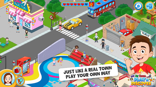 My Town : Play & Discover Pretend Play Kids Game  screenshots 1