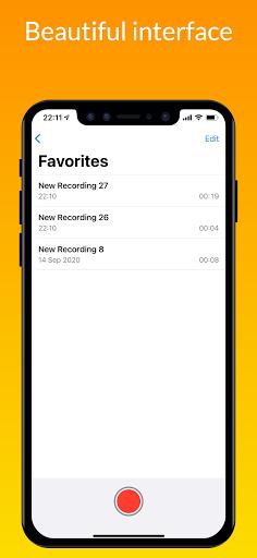 iVoice - iOS Voice Recorder, iPhone Voice Memos android2mod screenshots 7