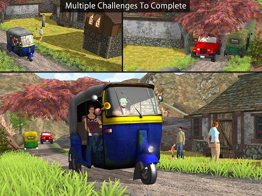 Tuk Tuk Auto Rickshaw Offroad Driving Games 2020 android2mod screenshots 18