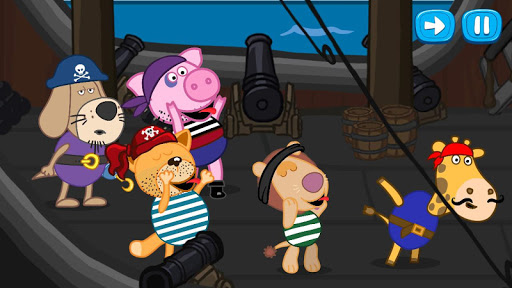 Pirate treasure: Fairy tales for Kids 1.5.6 screenshots 16