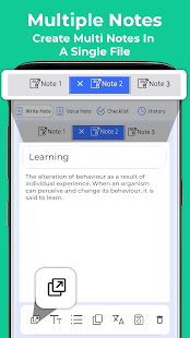 Keep Notes Free - Voice Notepad Notebook