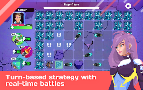 Capture the Space: Puzzle strategy & RPG 0.4 screenshots 1
