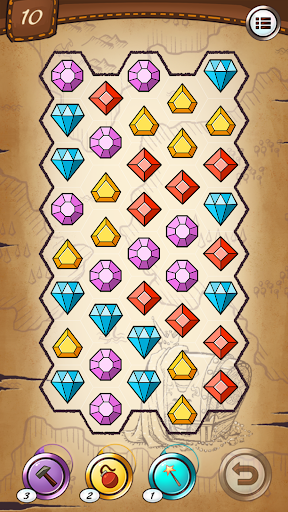 Jewels and gems - match jewels puzzle 1.3.0 screenshots 7