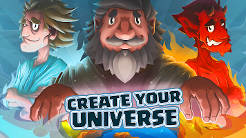 Almighty: idle clicker game about being god