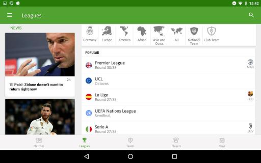 BeSoccer - Soccer Live Score 5.2.2.1 Screenshots 10
