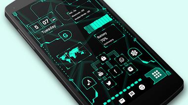 Launcher de alta tecnología - Android
